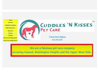 Cuddles N Kisses Pet Care | Boarding