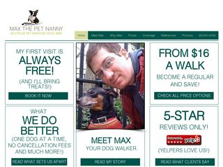 Max the Pet Nanny New York