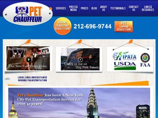 NYC Pet Chauffeur: Taxi & Travel Services New York
