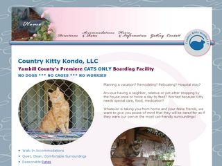 Country Kitty Kondo LLC | Boarding