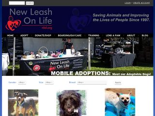 New Leash on Life Animal Rsce | Boarding
