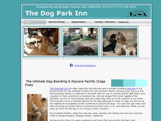 Dog Park Inn | Boarding
