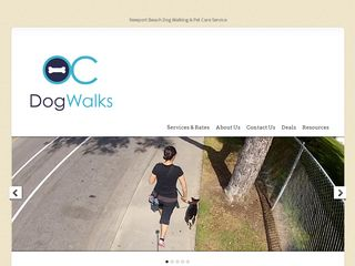 OC Dog Walks   Newport Beach Dog Walking | Boarding