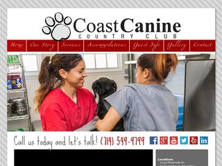 Coast Canine Country Club | Boarding