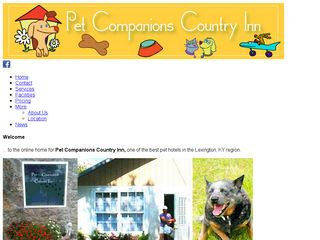 Pet Companions Country Inn | Boarding