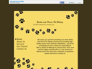 Barks and Purrs Pet Sitting Noblesville