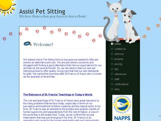 Assisi Pet Sitting LLC Noblesville