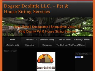 Dogster Doolittle LLC North Bend