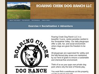 Roaring Creek Dog Ranch North Bend