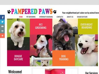 Pampered Paws Grooming  Boarding | Boarding