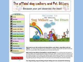 The Official Dog Walkers and Pet Sitters | Boarding