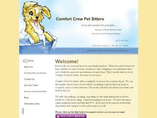 Comfort Crew Pet Sitters North Richland Hills