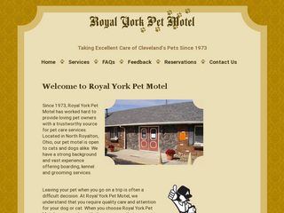 Royal York Pet Motel North Royalton