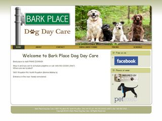Bark Place Dog Care | Boarding