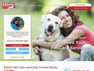 Fetch! Pet Care North Wales | Boarding