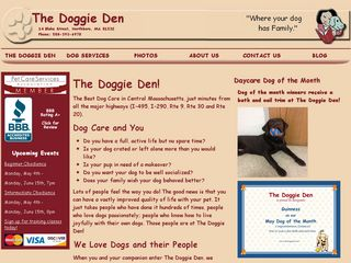 Doggie Den | Boarding