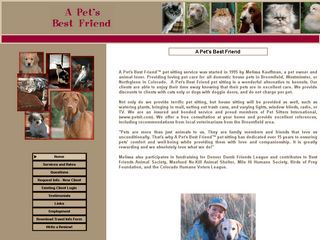 A Pets Best Friend Pet Sitting Service | Boarding