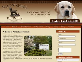 Windy Knoll Kennels | Boarding