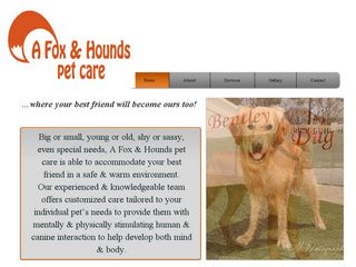 A Fox and Hounds Pet Care | Boarding