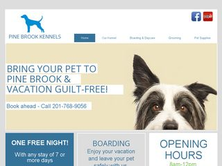 Pine Brook Kennels | Boarding