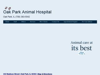 Oak Park Animal Hospital Ltd Oak Park