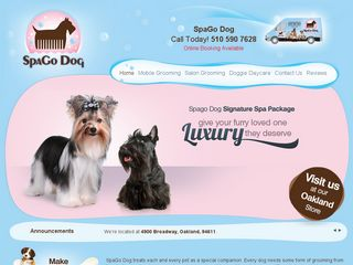 SpaGo Dog Grooming  Doggie Daycare Oakland