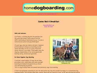 Special Care Home Dog Boarding Oakland