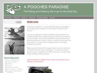 A Pooches Paradise | Boarding