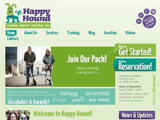 Happy Hound Play Daycare Oakland