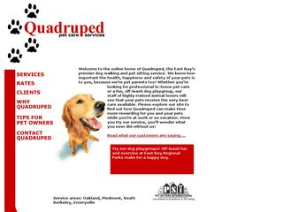 Quadruped | Boarding