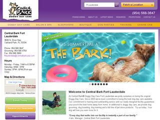 Central Bark Doggy Day Care Oakland Park | Boarding