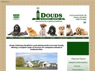 Douds Veterinary Hospital Oberlin