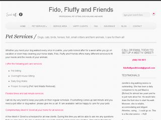 Fido Fluffy and Friends Pet Services Oceanside