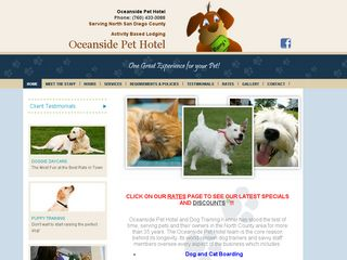 Oceanside Pet Hotel | Boarding