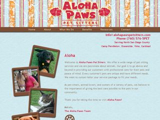 Aloha Paws Pet Sitters | Boarding