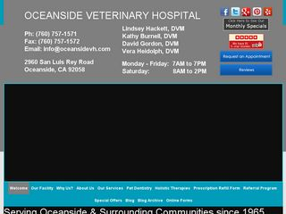 Oceanside Veterinary Hospital | Boarding