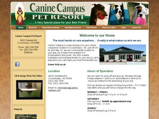 Canine Campus Pet Resort Oconomowoc