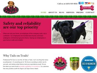 Tails on Trails LLC Odenton