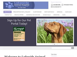 Lakeside Animal Hospital Odessa