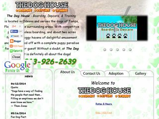 The Dog House   Boarding Daycare Training Odessa