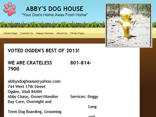 Abbys Dog House | Boarding