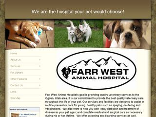 Farr West Animal Hospital | Boarding