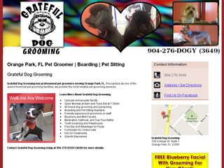 Grateful Dog Grooming | Boarding