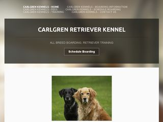 Carlgren Retriever Kennel | Boarding