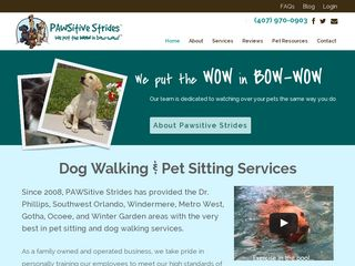 Pawsitive Strides | Boarding
