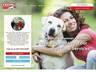 Fetch! Pet Care Orlando | Boarding