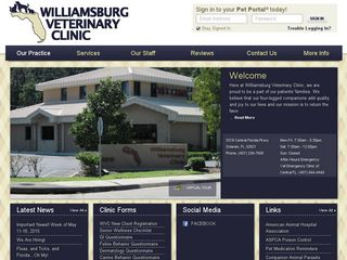 Williamsburg Veterinary Clinic Orlando