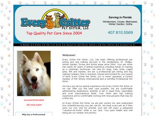 Every Critter Pet Sitter LLC | Boarding