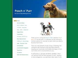 Pooch n Purr Pet Sitting & Dog Walking | Boarding