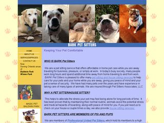 Bark Pet Sitters | Boarding